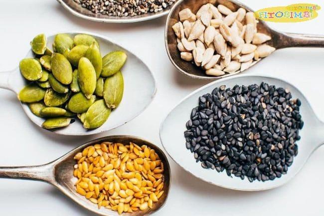 Omega 6 có nhiều trong các loại hạt