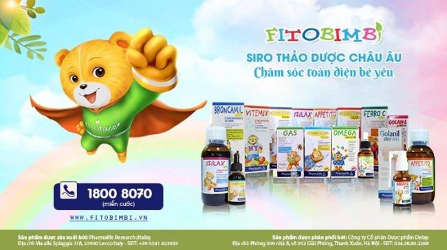 Siro thảo dược giúp giảm ho, bảo vệ đường hô hấp