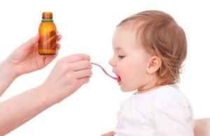 siro trị viêm họng cho bé