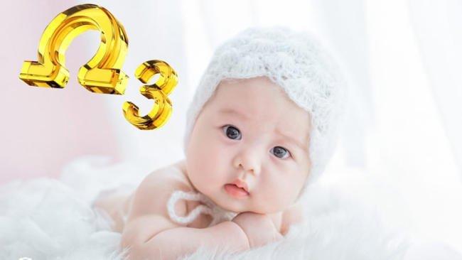 Tầm quan trọng của Omega 3 với sự phát triển của bé