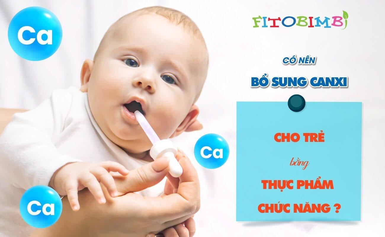 thực phẩm chức năng bổ sung canxi cho trẻ em
