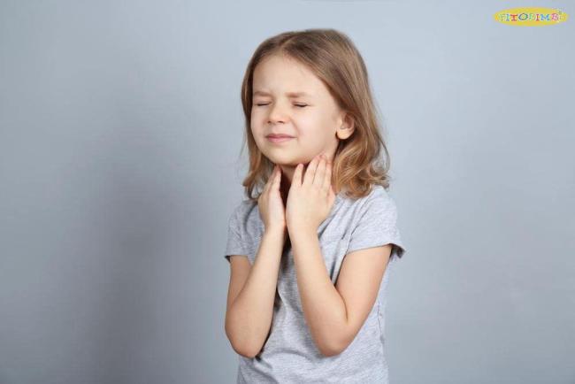 thuốc viêm họng cho bé