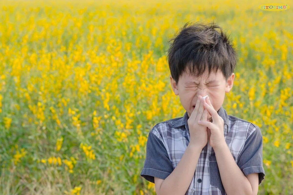Trẻ bị ho do dị ứng