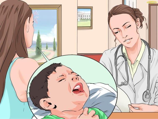 Triệu chứng ho gà ở trẻ nhỏ