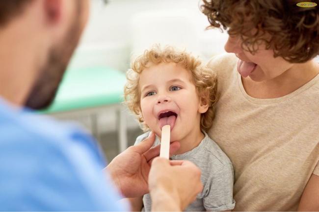 Triệu chứng viêm amidan mạn tính ở trẻ em thường lặp đi lặp lại