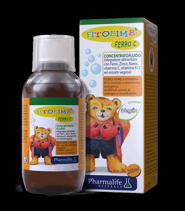 Fitobimbi Ferro C giúp tăng hiệu quả hấp thụ sắt cho bé
