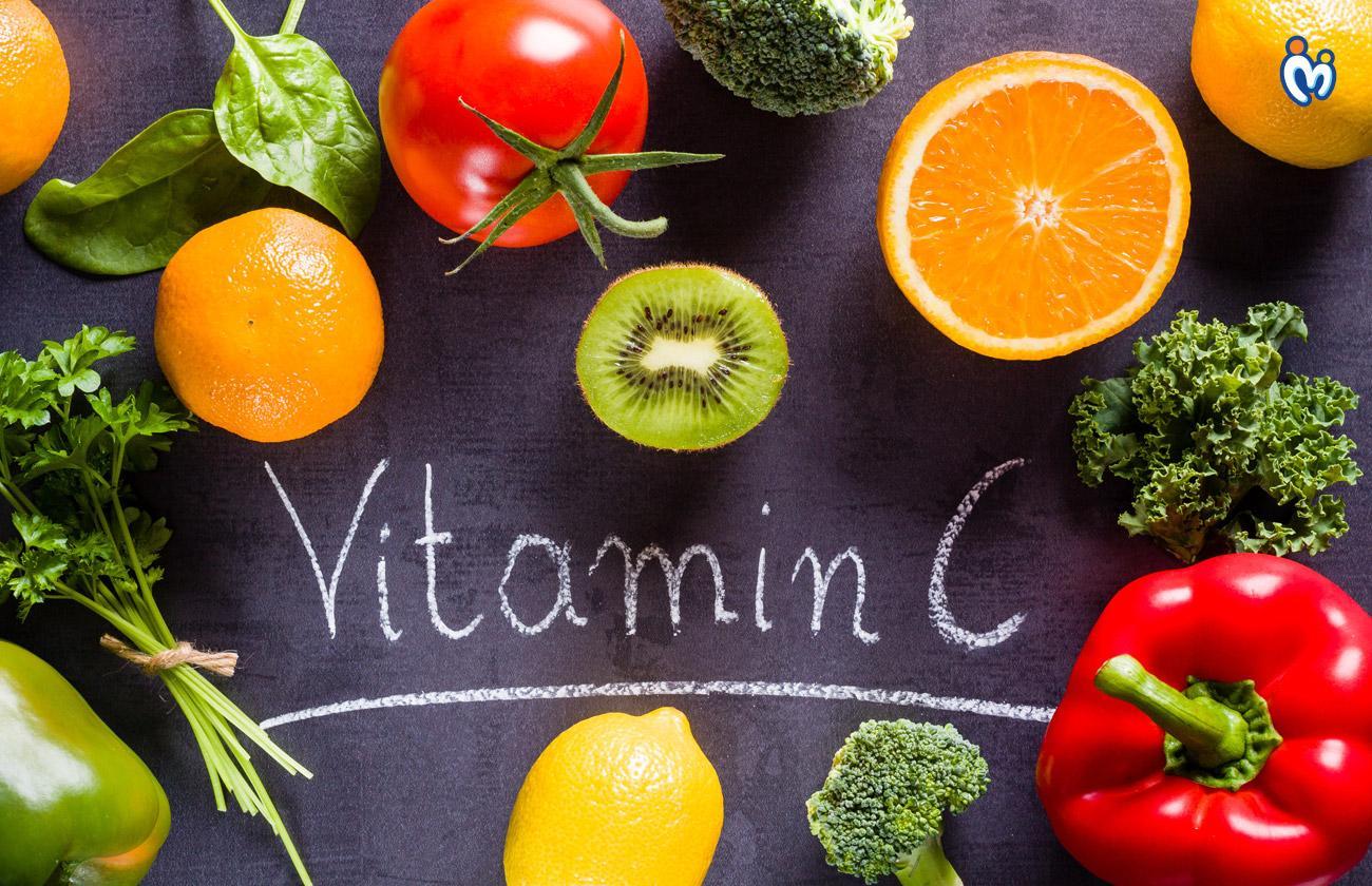 Vitamin C giúp làm đẹp da và cấp ẩm rất tốt