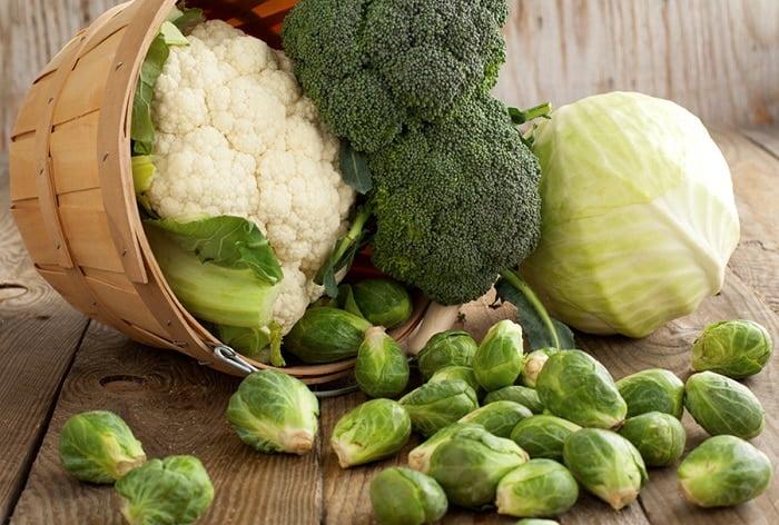 Cha mẹ nên hạn chế cho con ăn các loại rau thuộc họ cải khi đang bị bệnh