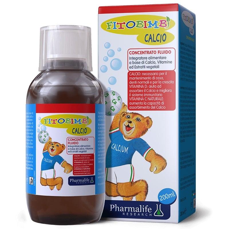 Fitobimbi Calcio bổ sung vitamin giúp bé phát triển chiều cao và cân nặng
