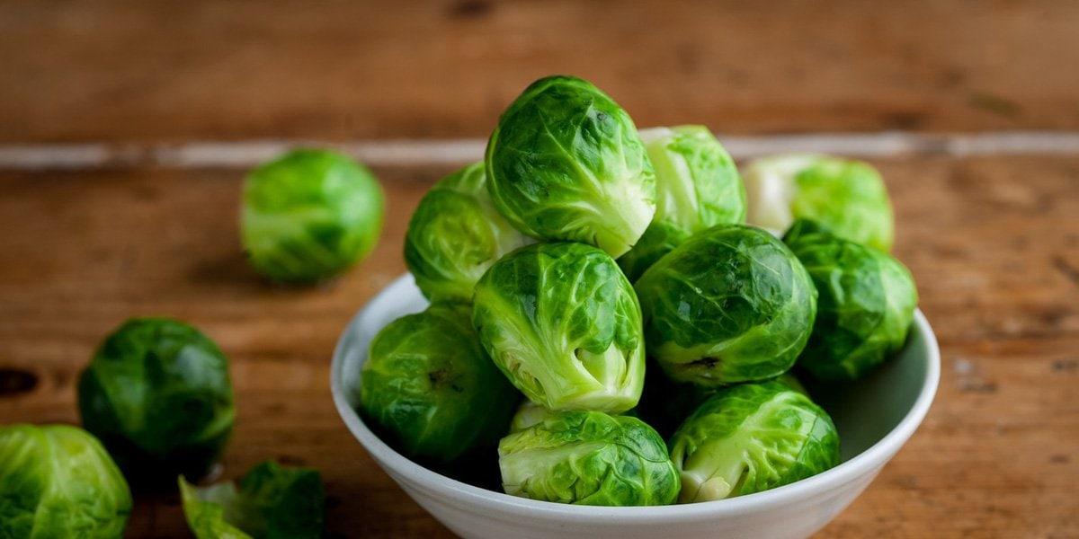Rau bắp cải Brussels cũng rất giàu vitamin C