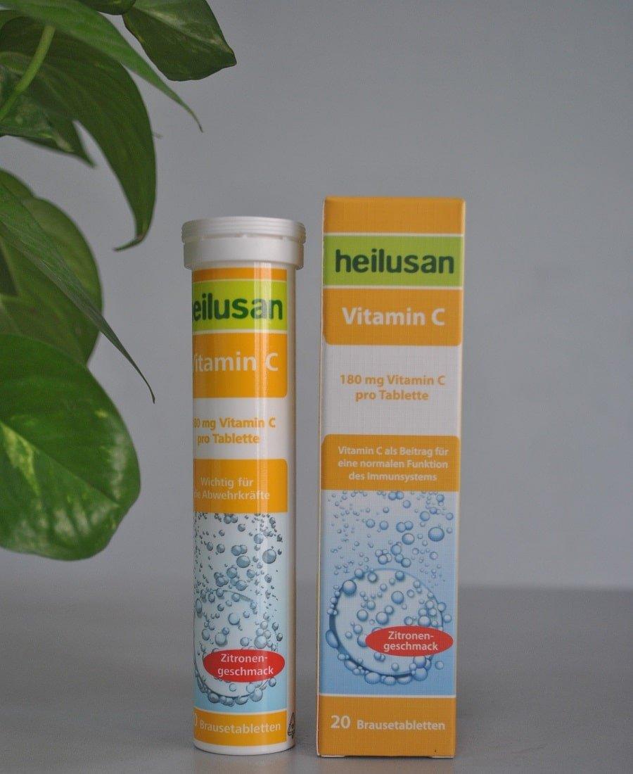 Heilusan Vitamin C dùng cho cả người lớn và trẻ nhỏ khi muốn tăng đề kháng