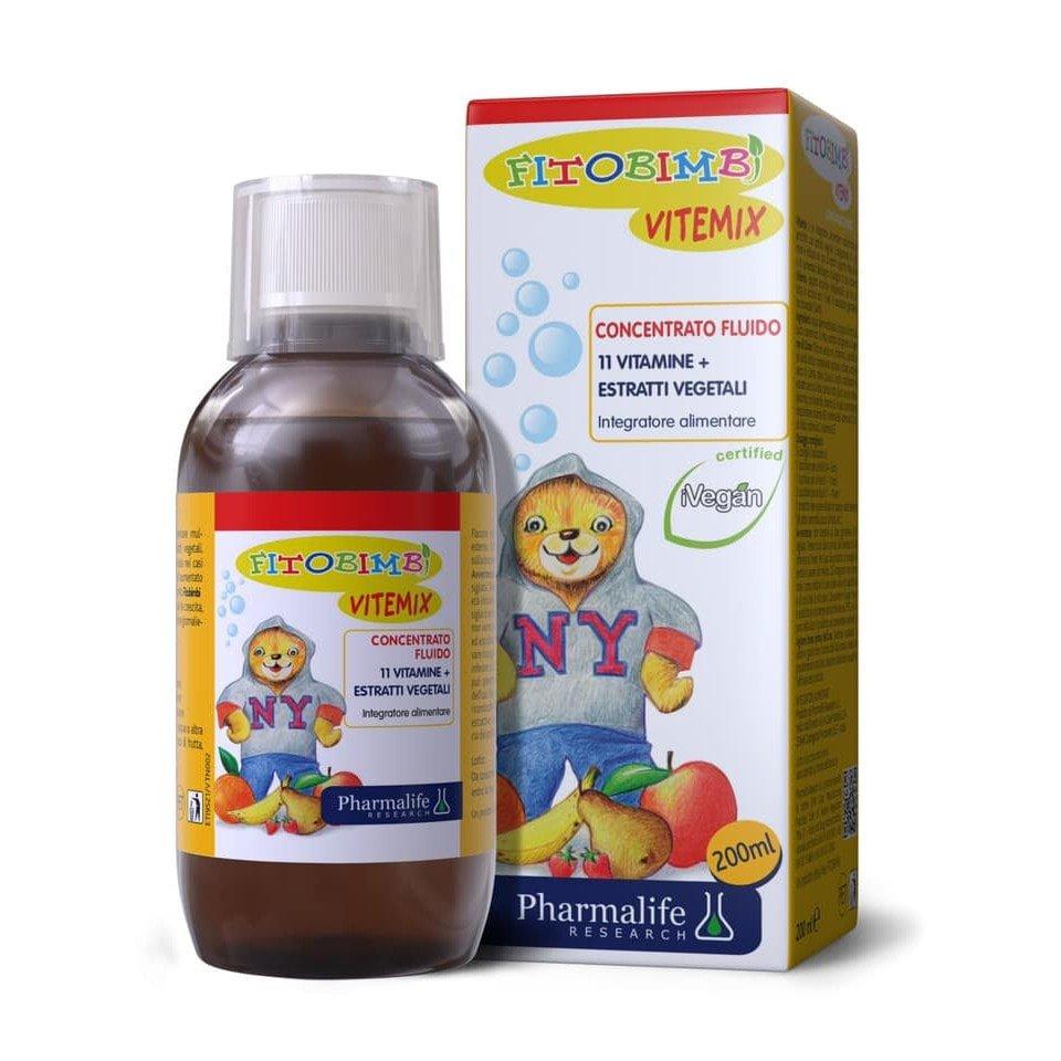Fitobimbi Vitemix là multi vitamin cho bé chứa tới 11 dưỡng chất quan trọng