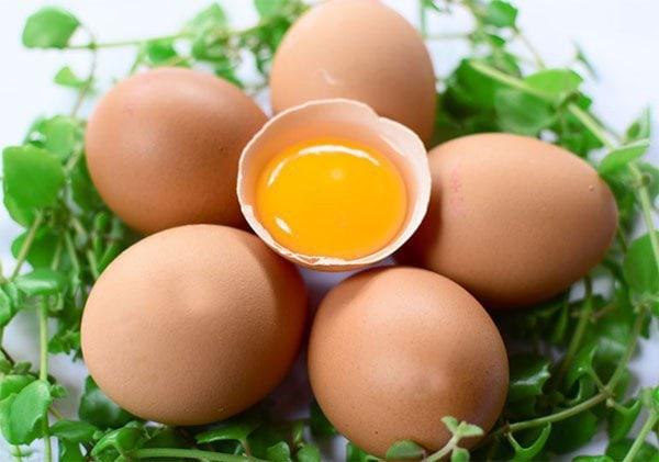 Lòng đỏ trứng gà bổ sung sắt và dinh dưỡng rất tốt cho mẹ