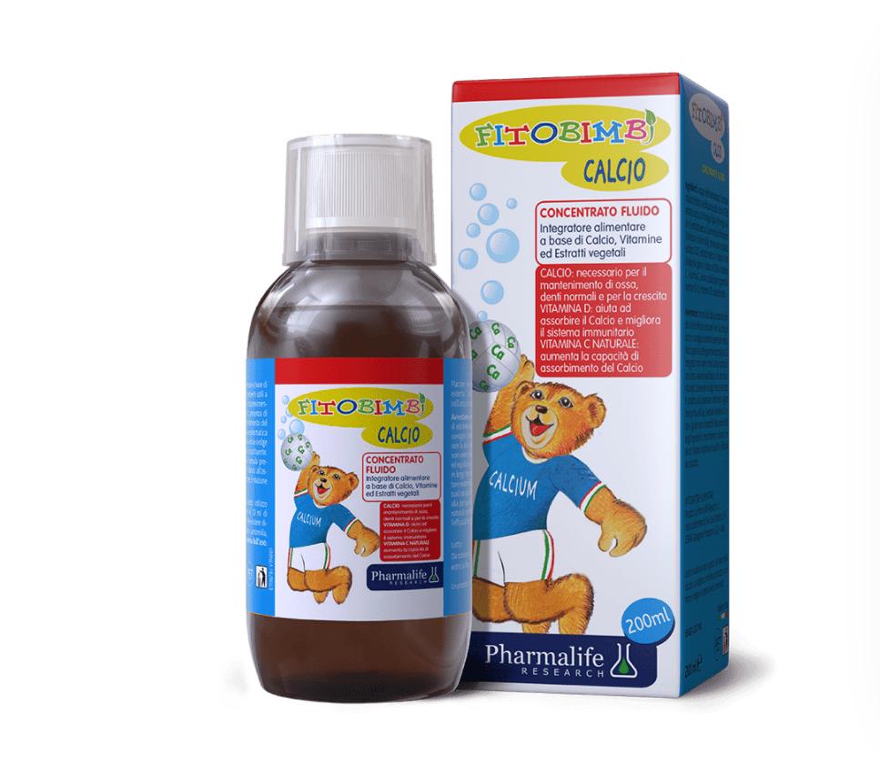 Fitobimbi Calcio bổ sung đồng thời canxi và vitamin D3, hỗ trợ trẻ phát triển chiều cao tối ưu