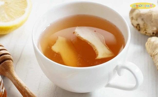 Chăm sóc trẻ bị viêm phế quản với một ly trà gừng