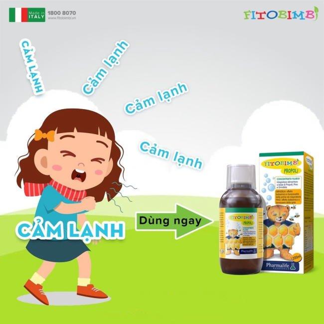 Fitobimbi Propoli - Bảo vệ con yêu khi chuyển mùa
