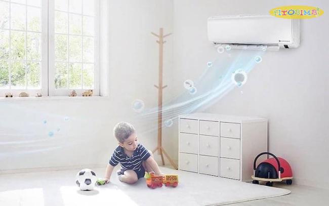 Không nên đưa trẻ ra ngoài phòng máy lạnh đột ngột