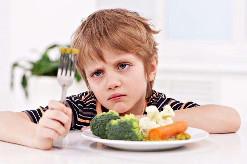 Chế độ ăn chay khiến bé thiếu kẽm