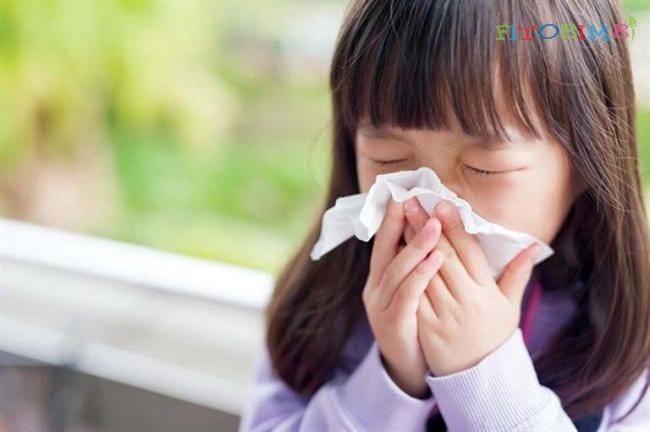 Trẻ bị viêm mũi họng gây ho sốt